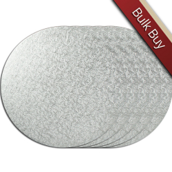 Cake Board Drum - Round - Silver - 12