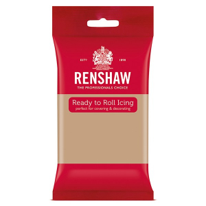 Renshaw Decor-Ice Ready To Roll Icing - Latte (250g)