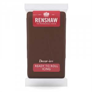 Renshaw Decor-Ice Ready To Roll Icing - Chocolate Flavoured (1kg)