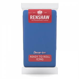 Renshaw Decor-Ice Ready To Roll Icing - Atlantic Blue (1kg)