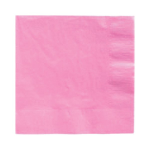 Amscan Party Napkins - Pink (Pack of 20)