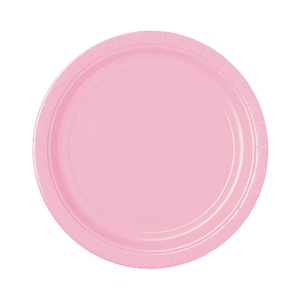 Amscan Party Plates - Pink (Pack of 20)