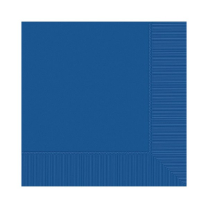 Amscan Party Napkins - Royal Blue (Pack of 20)