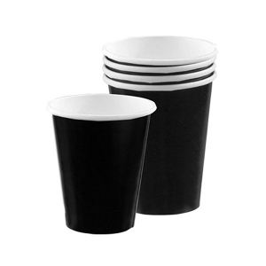 Amscan Party Cups - Black (Pack of 20)