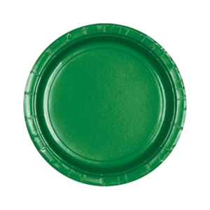 Amscan Party Plates - Green (Pack of 20)