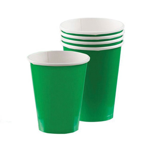 Amscan Party Cups - Green (Pack of 20)