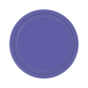 Amscan Party Plates - Purple (Pack of 20)