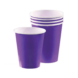 Amscan Party Cups - Purple (Pack of 20)