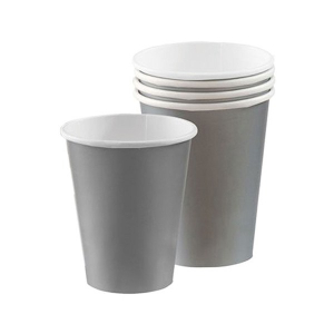Amscan Party Cups - Silver (Pack of 20)