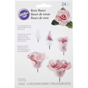 Wilton Rose Bases (Pack of 24)