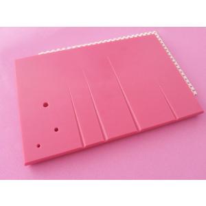 "Pullingers Veining Board - Pink - 10"" x 6.5"""