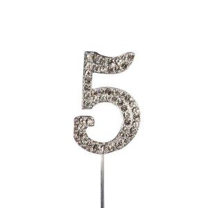 Culpitt Diamante Number Pick - 5