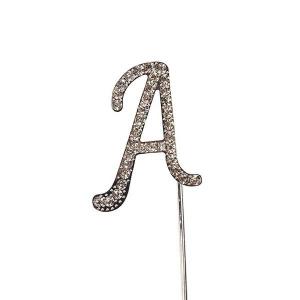 Culpitt Diamante Alphabet Pick - A