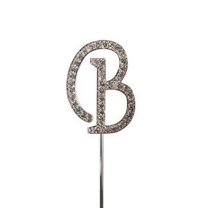 Culpitt Diamante Alphabet Pick - B
