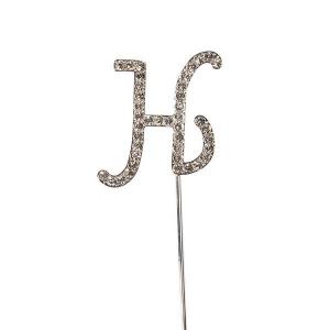 Culpitt Diamante Alphabet Pick - H