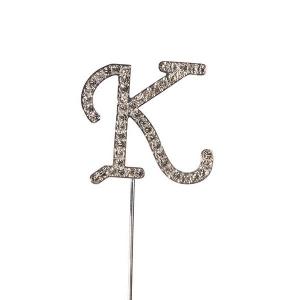 Culpitt Diamante Alphabet Pick - K