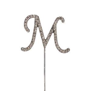 Culpitt Diamante Alphabet Pick - M