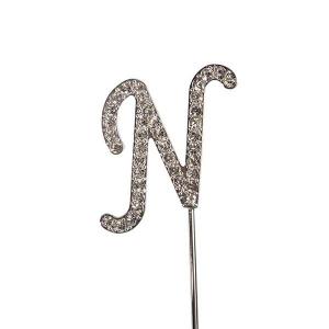 Culpitt Diamante Alphabet Pick - N