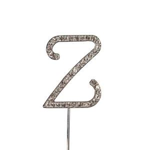 Culpitt Diamante Alphabet Pick - Z