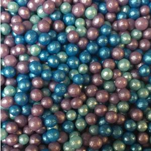 Scrumptious Glimmer Sugar Pearls - Mermaid Mix (80g)
