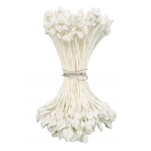 Culpitt Stamens - Pointed Seedhead Medium - White (1365W)