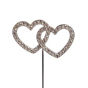 Culpitt Diamante Pick - Double Heart