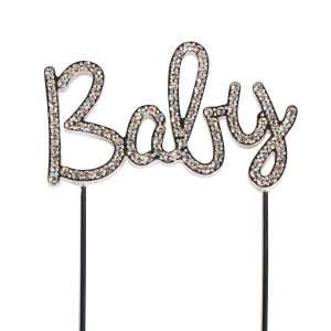 Cake Star Diamante Pick - Baby
