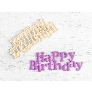 FMM Cutter - Happy Birthday