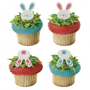 Culpitt Cake Ring Decorations - Easter Bunny Heads & Tails (Pack of 144)