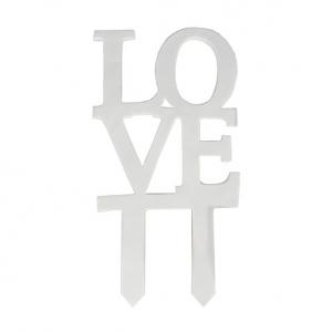 Culpitt Gumpaste Decorations - 'Love' Cake Topper