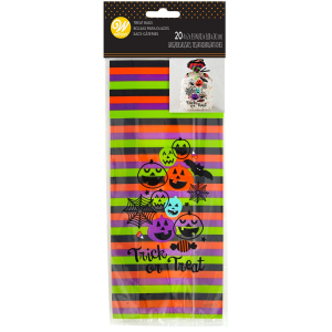Wilton Treat Bags - Trick Or Treat (Pack of 20)