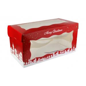"Log Box - Merry Christmas - 08"" x 04"""