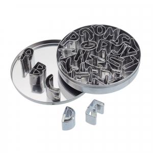 KitchenCraft Cookie Cutter - Let's Make - Alphabet Set