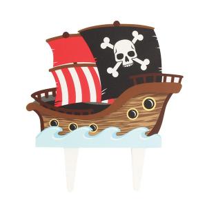 Culpitt Gumpaste Decoration - Pirate Ship Cake Topper
