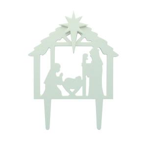 Culpitt Gumpaste Decorations - Nativity - White