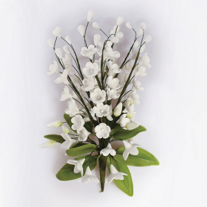 Culpitt Gum Paste Flower - Lily of the Valley Spray