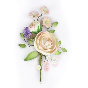 Culpitt Gum Paste Flower - Ranunculus Spray