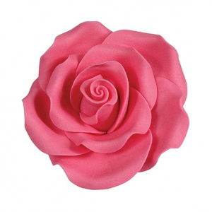 Culpitt SugarSoft Roses - Bright Pink - 50mm (Box of 10)
