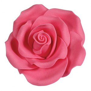 Culpitt SugarSoft Roses - Bright Pink - 63mm (Box of 8)