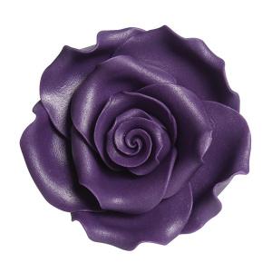 Culpitt SugarSoft Roses - Purple - 63mm (Box of 8)