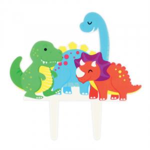 Culpitt Gumpaste Decoration - Dinosaurs Cake Topper Pic