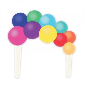 Culpitt Gumpaste Decoration - Balloon Garland Cake Topper Pic