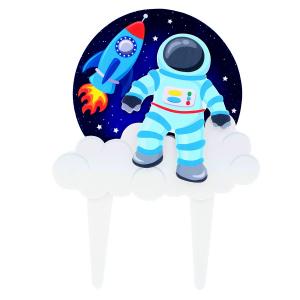 Culpitt Gumpaste Decoration - Spaceman Cake Topper Pic