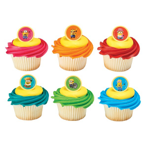 DecoPac Cake Ring Decoration - Despicable Me - Minions Mayhem (Pack of 144)