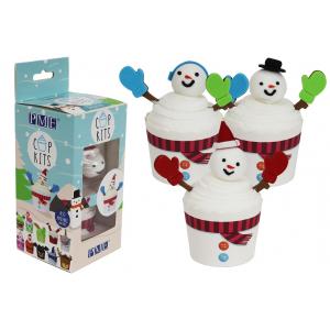 PME Cupkits - Cupcake Decorating Kit - Snowman