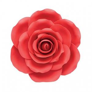 Culpitt Gum Paste Flower - Rose - Red - 101mm