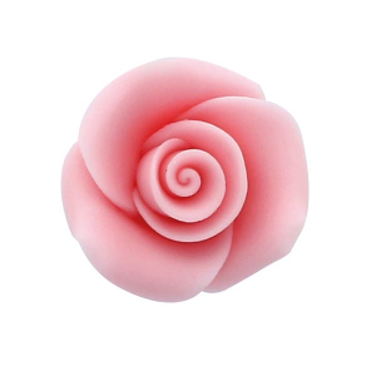 Culpitt SugarSoft Roses - Pink - 25mm (Box of 48)