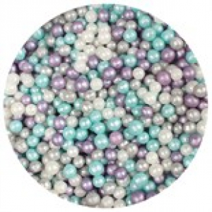 Purple Cupcakes Shimmer Pearls - Frozen (80g)