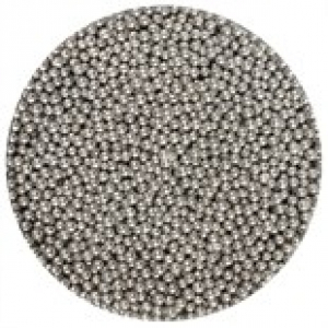 Purple Cupcakes 2mm Dragees - Silver (100g)