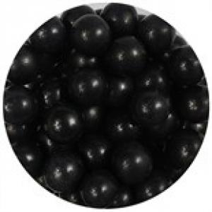 Purple Cupcakes 10mm Sugar Pearls - Black (80g)